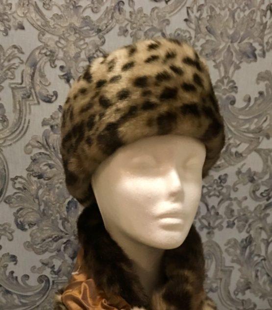 Leopard Faux Fur Headband